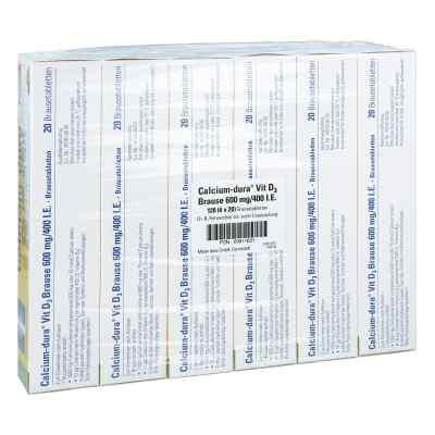 Calcium-dura Vit D3 Brause 600mg/400 internationale Einheiten  bei juvalis.de bestellen