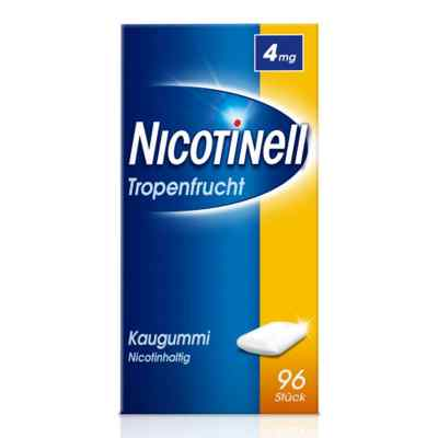 Nicotinell Kaugummi 4 mg Tropenfrucht  bei juvalis.de bestellen