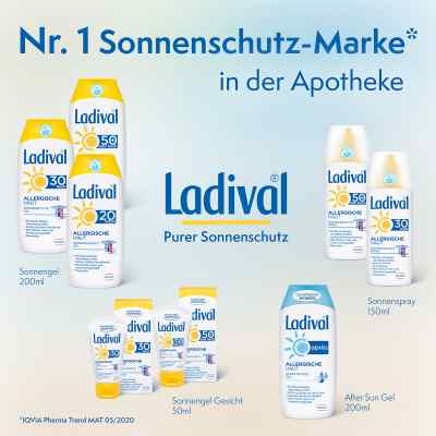 Ladival allergische Haut Spray Lsf 50+  bei juvalis.de bestellen