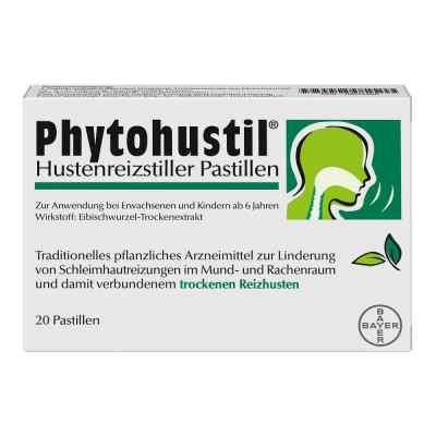 Phytohustil Hustenreizstiller Pastillen gegen Reizhusten  bei juvalis.de bestellen