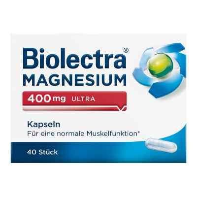 Biolectra Magnesium 400 mg ultra Kapseln  bei juvalis.de bestellen