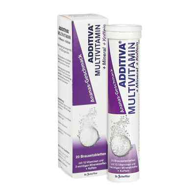 Additiva Multivit.+mineral+coff.ananas R Br.-tabl.  bei juvalis.de bestellen