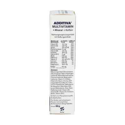 Additiva Multivit.+mineral+coff. ananas Brausetabletten  bei juvalis.de bestellen