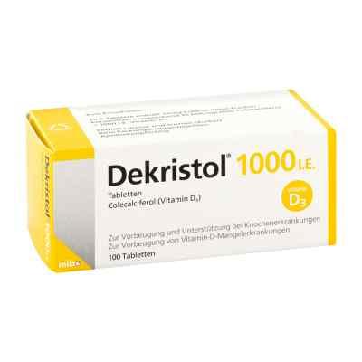 Dekristol 1.000 I.e. Tabletten  bei juvalis.de bestellen