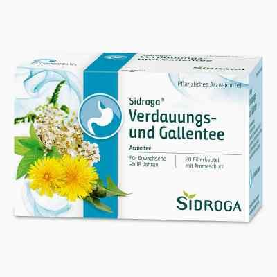 Sidroga Verdauungs- und Gallentee Filterbeutel  bei juvalis.de bestellen