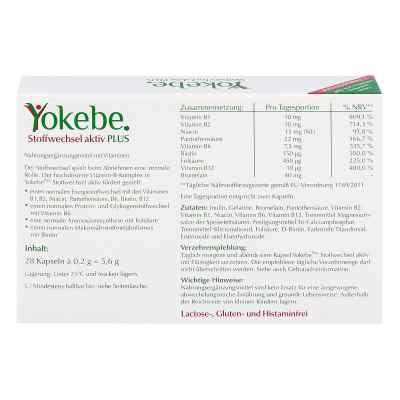 Yokebe Plus Stoffwechsel aktiv Kapseln  bei juvalis.de bestellen