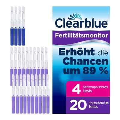Clearblue Fertilitätsmonitor Teststäbchen 20+4  bei juvalis.de bestellen