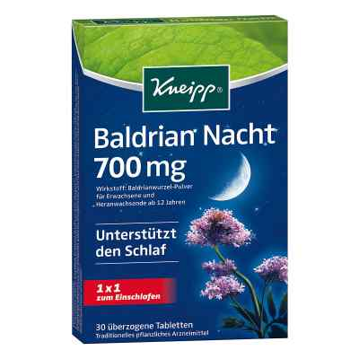 Kneipp Baldrian Nacht überzogene Tabletten  bei juvalis.de bestellen