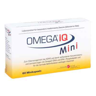 Omega Iq Mini Kapseln  bei juvalis.de bestellen