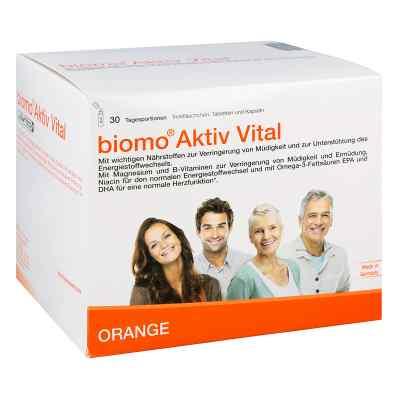 Biomo Aktiv Vital Trinkflaschen 30 Tagesportionen  bei juvalis.de bestellen