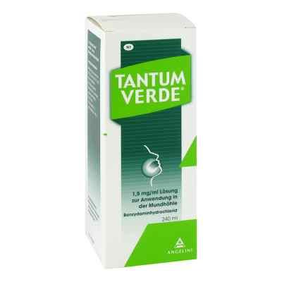 Tantum Verde 1,5 mg/ml Lösung zur, zum Anwendung in der Mundhöhl  bei juvalis.de bestellen
