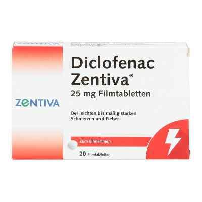 Diclofenac Zentiva 25mg  bei juvalis.de bestellen