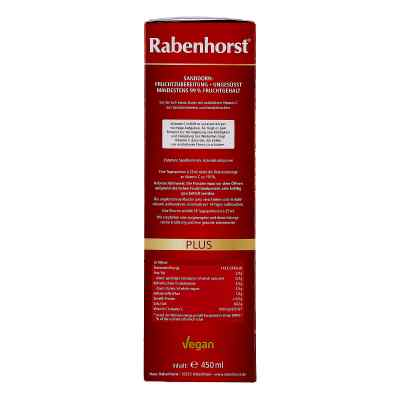 Rabenhorst Sanddorn plus C-500 ungesüsst Saft  bei juvalis.de bestellen