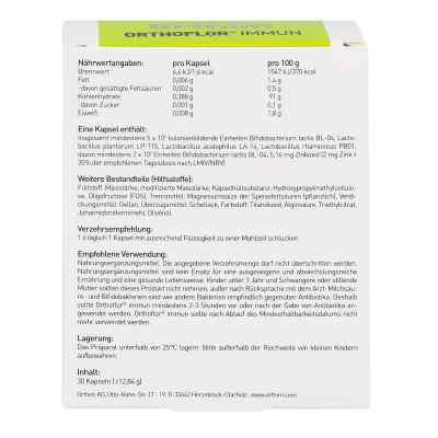 Orthoflor Immun Kapseln  bei juvalis.de bestellen