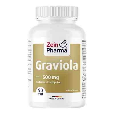 Graviola Kapseln 500 mg/Kap.reines Blattpulv.peru  bei juvalis.de bestellen