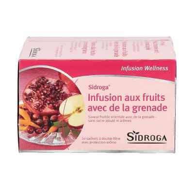 Sidroga Wellness Früchtetee mit Granatapfel Filterb.  bei juvalis.de bestellen