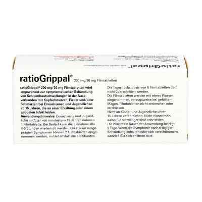 Ratiogrippal 200 mg/30 mg Filmtabletten  bei juvalis.de bestellen