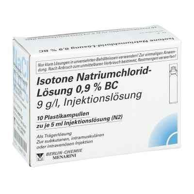 Isotone Nacl Lösung 0.9% Bc Plastik amp.inj.-lsg.  bei juvalis.de bestellen