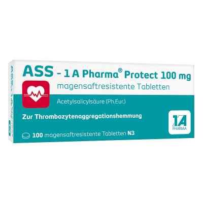 Ass 1a Pharma Protect 100 mg magensaftresistent Tabletten  bei juvalis.de bestellen