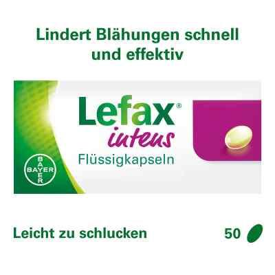 Lefax intens Flüssigkapseln 250 mg Simeticon  bei juvalis.de bestellen