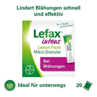 Lefax intens Lemon Fresh Mikro Granul.250 mg Sim.  bei juvalis.de bestellen