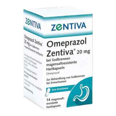 Omeprazol Zentiva 20mg bei Sodbrennen  bei juvalis.de bestellen