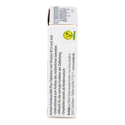 Folsäure 800 Plus B12+jod Tabletten  bei juvalis.de bestellen