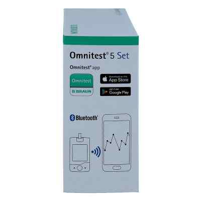 Omnitest 5 Blutzucker Messgerät Set mmol/l weiss  bei juvalis.de bestellen