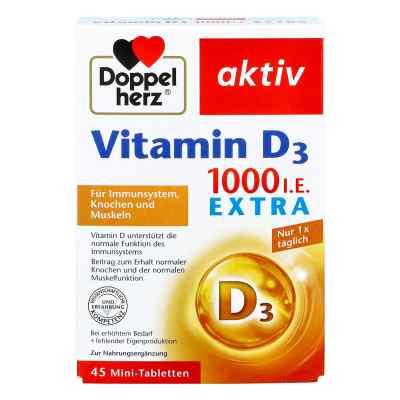 Doppelherz Vitamin D 1.000 I.e. Extra Tabletten  bei juvalis.de bestellen