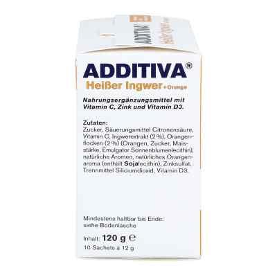 Additiva Heisser Ingwer+orange Pulver  bei juvalis.de bestellen