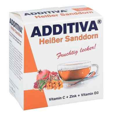 Additiva Heisser Sanddorn Pulver  bei juvalis.de bestellen