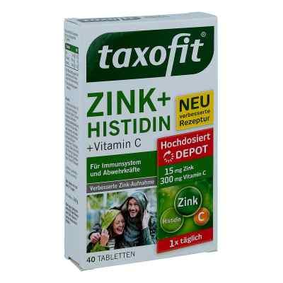 Taxofit Zink+histidin Depot Tabletten  bei juvalis.de bestellen