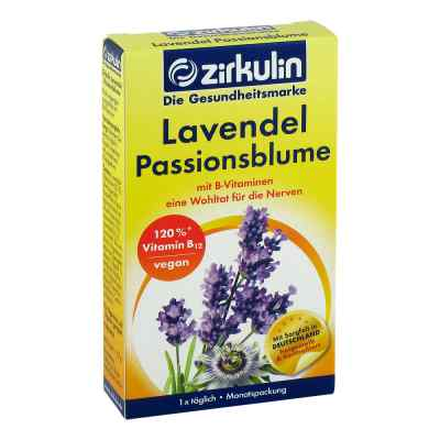 Zirkulin Lavendel Passionsblume Kapseln  bei juvalis.de bestellen