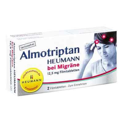 Almotriptan Heumann bei Migräne 12,5mg  bei juvalis.de bestellen