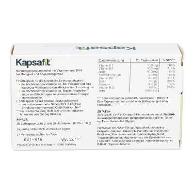 Kapsafit Kapseln  bei juvalis.de bestellen