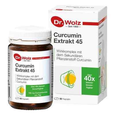 Curcumin Extrakt 45 Doktor wolz Kapseln  bei juvalis.de bestellen