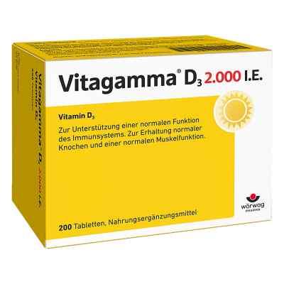 Vitagamma D3 2.000 I.e. Vitamin D3 Nem Tabletten  bei juvalis.de bestellen
