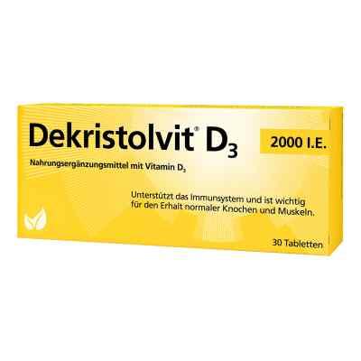 Dekristolvit D3 2.000 I.e. Tabletten  bei juvalis.de bestellen