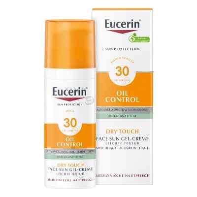 Eucerin Sun Gel-creme Oil Contr.anti-gl.eff.lsf 30  bei juvalis.de bestellen
