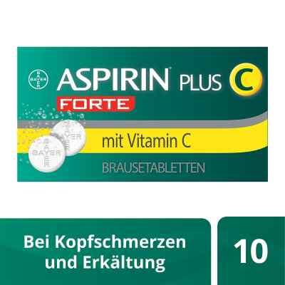 Aspirin plus C Forte 800mg/480mg Brausetabletten  bei juvalis.de bestellen