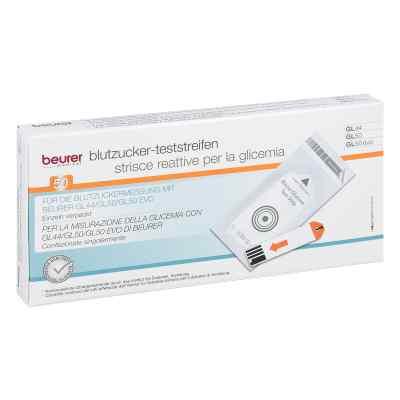Beurer Gl44/gl50 Blutzucker-teststreifen Folie  bei juvalis.de bestellen