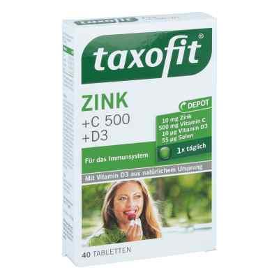 Taxofit Zink+c 500+selen+d3 Tabletten  bei juvalis.de bestellen