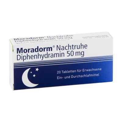 Moradorm Nachtruhe Diphenhydramin 50mg  bei juvalis.de bestellen