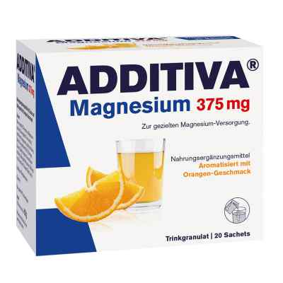 Additiva Magnesium 375 mg Granulat Orange  bei juvalis.de bestellen