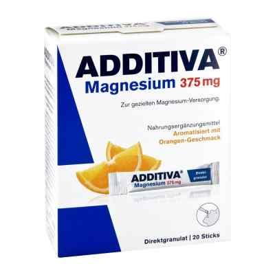 Additiva Magnesium 375 mg Sticks Orange  bei juvalis.de bestellen