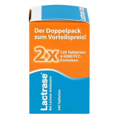 Lactrase 6.000 Fcc Tbl.im Klickspender Doppelpack  bei juvalis.de bestellen