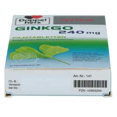 Doppelherz Ginkgo 240mg system  bei juvalis.de bestellen