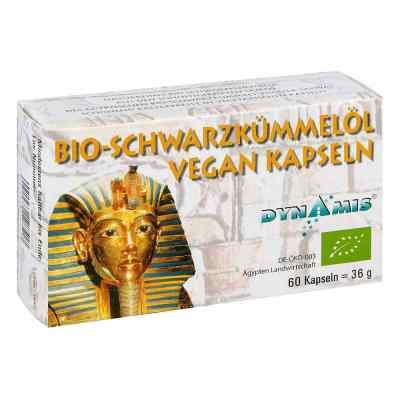 Schwarzkümmel Bio Vegan Kapseln  bei juvalis.de bestellen
