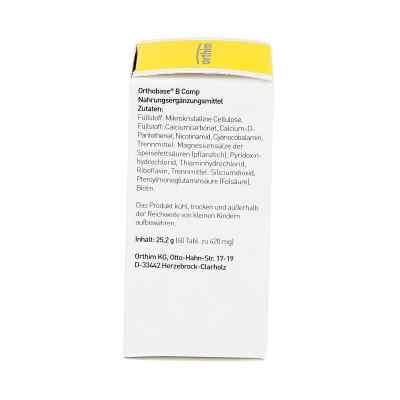 Orthobase B comp Tabletten  bei juvalis.de bestellen