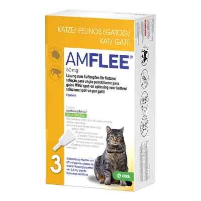 Amflee 50 mg Lösung zum Auftropfen für Katzen  bei juvalis.de bestellen